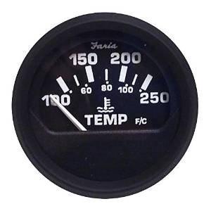 euro black water temperature gauge