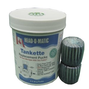 tank bullet /  head-o-matic  / pk 6
