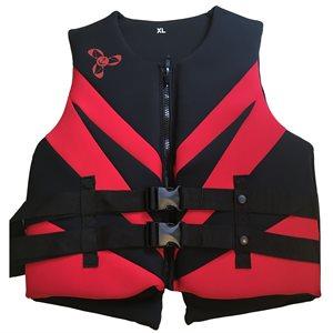 Veste de flottaison individuel en néoprène pour activités sportives et de plaisance, approuvé au Canada, LARGE