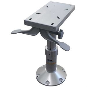 POWER GAS RISE PEDESTAL WITH SLIDE 430MM TO 610MM