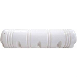 dock side bumper 3 / 4'' round white