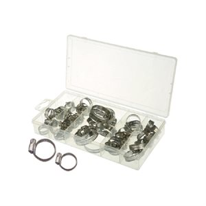 40 PC. S.S HOSE CLAMP ASSORTMENT