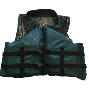 Canadian approved adult outdoor sports and fishing lifejacket vest, Large