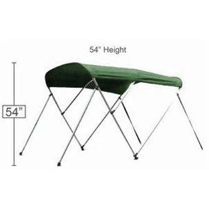 """toit bimini vert 72"""" l x 54"""" h x 79-84"""""""