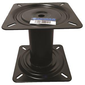 """7"""" fixed height pedestal blk"""