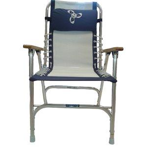 chaise de pont pliante en aluminium