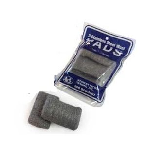 FINE STAINLESS WOOL PADS