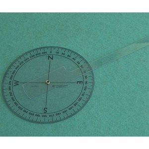 circular protractor with arm
