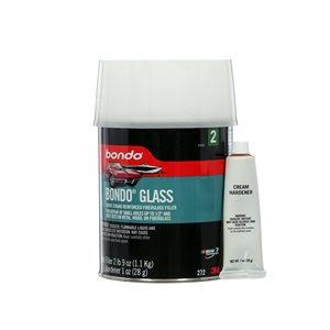 fiberglass reinforced filler, quart can (net weight 2 lb 9 oz)