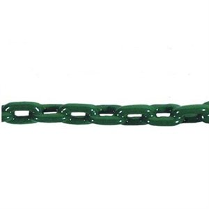 pvc coated anchor chain  vinyl green