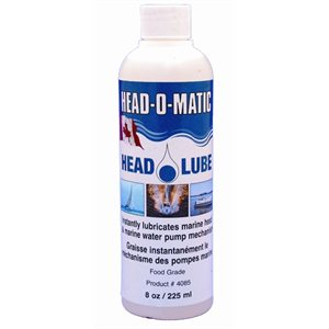 head-o-lube lubricant for toilettes and pumps 225ml