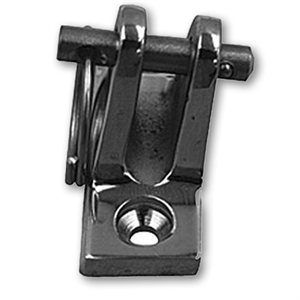 quick release angle deck hinge