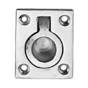 Round recessed handle