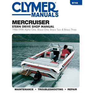 service manual mercruiser stern drive 86-94 a1 b1 & b2