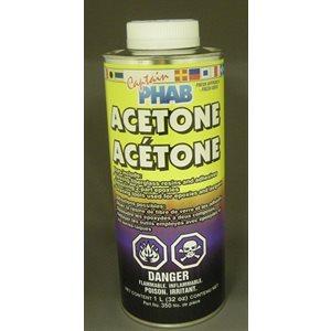 acetone fiberglass cleaner, 1l