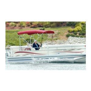 4-bow 1 inch square tube bimini top frame (frame only) carver 50510 fits 91-96 inch w, 8 ft l, 48 inch h-bimini top