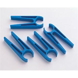 épingles à linge bleues, paquet de 4