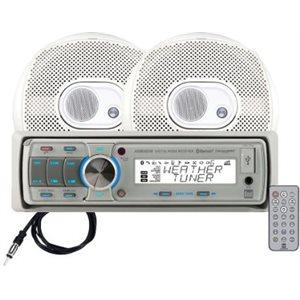 am / fm / mp3 av / 2 h-parleurs 6.5''  / ant et télécomm