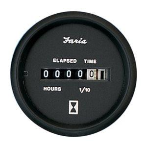 euro black hourmeter