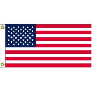 "DRAPEAU USA 12""X24"""