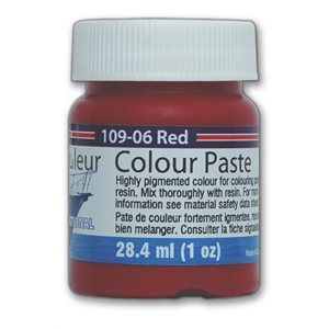 color paste- red 1oz