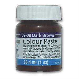 color paste- dark brown 1oz