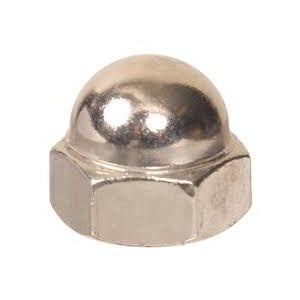 stainless steel cap nut  / pk 6