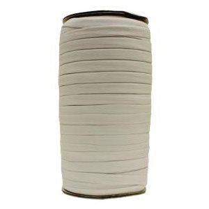 """½"""" knit elastic (200 m) white"""