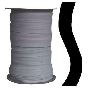 "¾"" topline two edge turned binding - black"