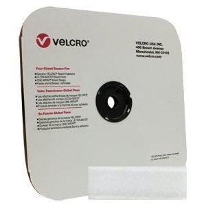 "1"" velcro white loop tape"