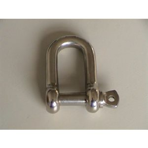 CAST D SHACKLE CAPTIVE PIN 5 / 16""