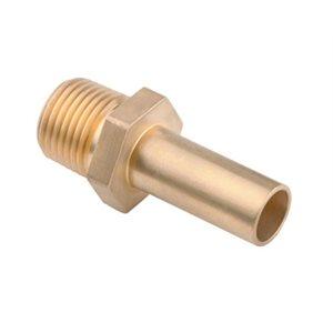 "15mm x 1 / 2"" male stems - brass"