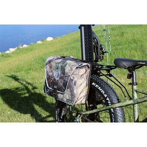 half saddle bag - camo