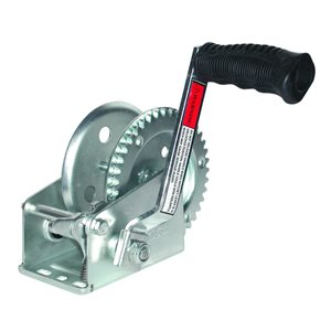 ZINC 1000 LBS CAP. TRAILER WINCH