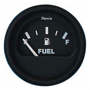 euro black fuel level gauge