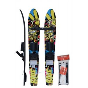 kids trainer water skis