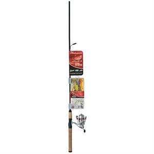 "Ensemble Combo Catch More Fish De 6'6"" En 2 Morceaux Par Shakespeare"
