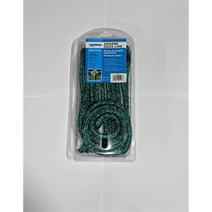 Double braided 3 / 8*20 green / black