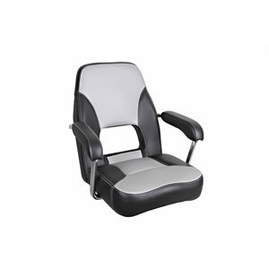 siège de luxe mini mojo gris foncée / gris pale