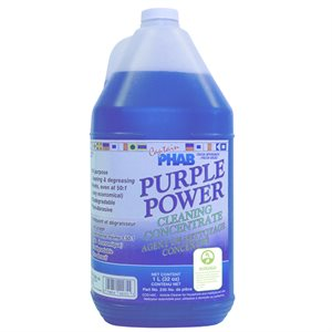 "nettoyant concentré ""purple power""  / 4 l"