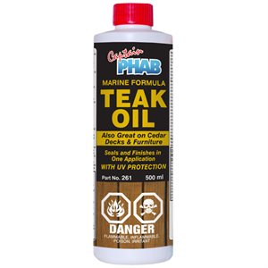 teak oil w / uv protection /  500ml