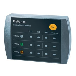 moniteur à distance pour 3 batteries