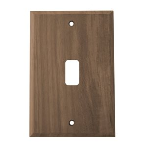 TEAK SWITCH COVER