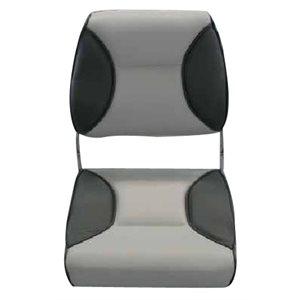 siège pliant de luxe gris pâle et foncé