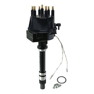 Assembly for an ignition distributor components