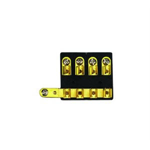 4 gang brass fuse block
