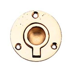 pull ring brass 2""