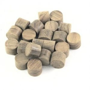 SET OF TEAK PLUGS 3  /  8 ""