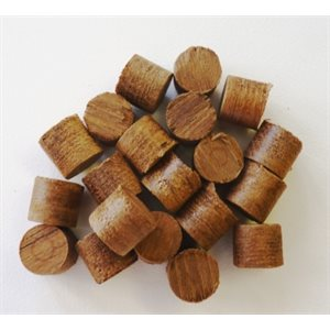 SET OF TEAK PLUGS  ½ ""