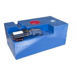 Réservoir d'eaux usées 72L (19 G) Macerator CPL 12V